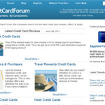 Credit Card Forum